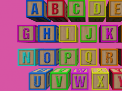 Toddler Cube ABC - Kids 1.0 Screenshot