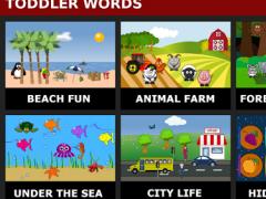 Toddler Words Lite 1.5 Screenshot