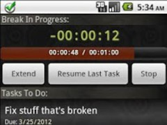 ToDo Timer 1.1 Screenshot