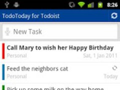 TodoToday for Todoist 1.8.9 Screenshot