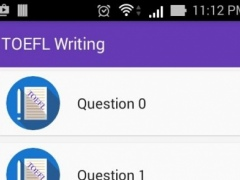TOEFL Essay 2016 1.0 Screenshot