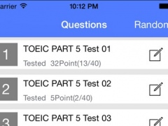 TOEIC Part5 Reading -- Incomplete Sentences 800 Questions 2.3 Screenshot