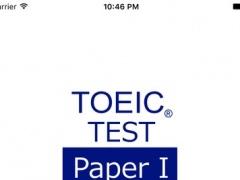 TOEIC Practice Test Paper (1) 1.0 Screenshot