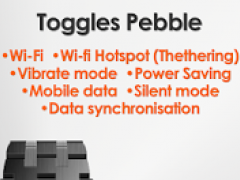 Toggles for Pebble 50 Screenshot
