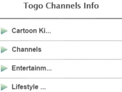 Togo Channels Info 1.0 Screenshot