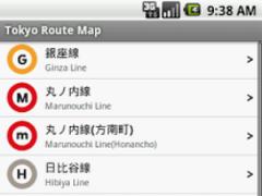Tokyo Route Map 1.0 Screenshot