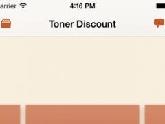 Toner Discount 1.0.3 Screenshot