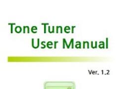 ToneTunerUserManual-en 1.2.0 Screenshot