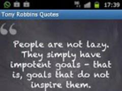 Tony Robbins Quotes (Free!) 1.0 Screenshot
