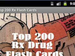 Top 200 Rx Drug Flash Cards 1.0.1 Screenshot