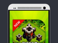 TOP Hybrid Maps Clash Clans 1.0 Screenshot