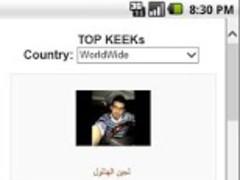 Top Keek 1.5 Screenshot