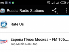 Top Russia Radio Stations 1.0 Screenshot