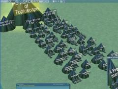 3D Topicscape Lite 1.20 Screenshot