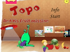 Topo and his fruit mission 1.2 Screenshot