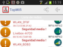 TopWifi - wifi scanner 1.0.2 Screenshot