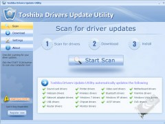 Toshiba Drivers Update Utility 9.7 Screenshot
