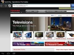 Toshiba Send & Play 1.1.2 Screenshot