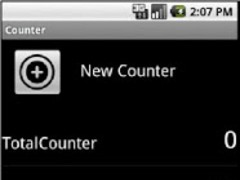 Total Counter + Widget 1.3 Screenshot