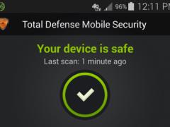 Total Defense Mobile Security 1.0.1 Screenshot