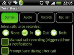 Total Recall Recorder X10 Demo 1.9.2 Screenshot
