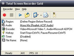 Total Screen Recorder Gold 1.5.31.0 Screenshot