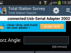Total Station Survey 1.4.0 Screenshot