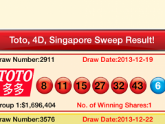 TOTO, 4D Lottery Live Free 3 8 Free Download