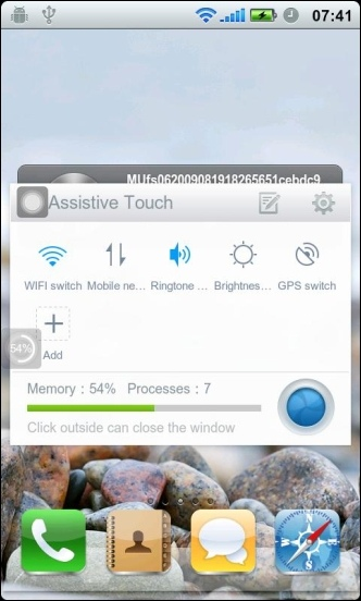 Touch Me - Assistive Touch