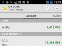 Touch Money - Expense Manager 1.0.18.20150219 Screenshot