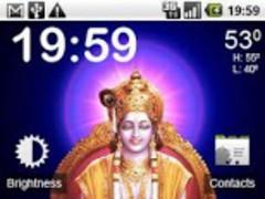 Touch Sri Krishna Pooja LWP 1.0 Screenshot