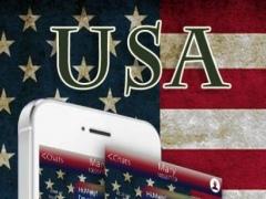 TouchPal America KeyboardTheme 4.0 Screenshot