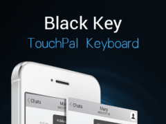 TouchPal Black Key Theme 6.20160726202125 Screenshot