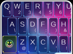 TouchPal Colorful Neon Theme 1 Screenshot