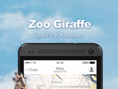 TouchPal Zoo Giraffe Theme 1 Screenshot