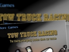 Tow Truck Racing : The towing emergency broken down car rescue - Free Edition 1.0 Screenshot
