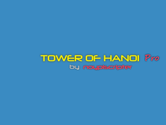Tower of Hanoi Pro Drag-n-Drop 1.0 Screenshot