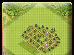 Town Hall 5 Hybrid Base Layout 1.0 Screenshot