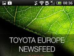Toyota Europe Newsfeed 2.0 Screenshot