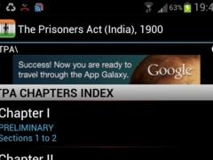 TPA - The Prisoners Act 1900 1.1 Screenshot