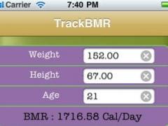 TrackBMR 1.0 Screenshot