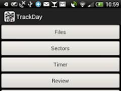 TrackDay 1.1.0 Screenshot
