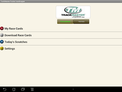TrackMaster Pocket Handicapper 2.0.2 Screenshot