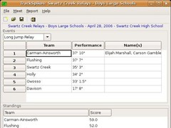 TrackSpikes 0.1 Screenshot