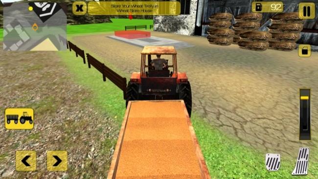 Tractor Farm Simulator 3D Pro