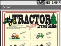 Tractor travelling game 3.0 Screenshot