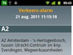 Traffic Alarm 1.0 Screenshot