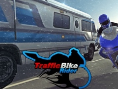 Traffic Bike Rider - Extreme Driver Use Drift Skill To Chase & Win Race On Frozen Highway 1.2 Screenshot