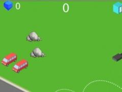 Traffic Jump Racing - Santa Monic Paradise 2.2 Screenshot