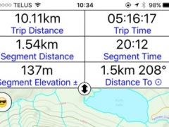 Trail Boss: Maps for the outdoors enthusiast. Navigation, Logs, Statistics. 3.6 Screenshot